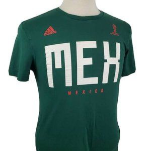 Adidas Mexico Green World Cup Russia 2018 T-Shirt